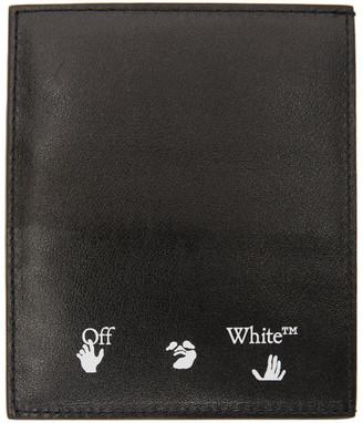 Off-White Black Logo Cardholder
