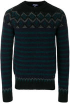 Woolrich stripe and zig-zag sweater
