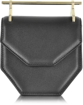 M2Malletier Mini Amor Fati Black Leather Crossbody Bag