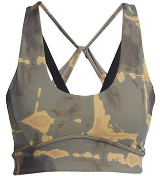 Varley Cary Camo Sports Bra