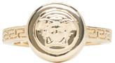 Versace Gold Medusa Emblem Ring
