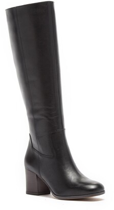 Franco Sarto Anberlin Leather Block Heel Knee-High Boot