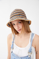 Urban Outfitters Emma Straw Bucket Hat