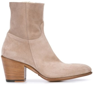 Rocco P. zipped ankle boots