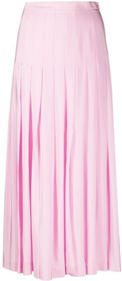 Giambattista Valli Pleated Midi Skirt