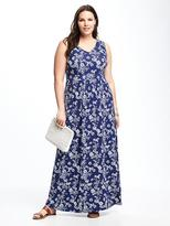 Old Navy Empire-Waist Plus-Size Maxi Dress