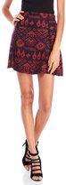 Custo Barcelona Glitter Printed Knit Skirt