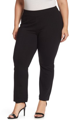 NYDJ Cropped Ponte Pull-On Pants (Plus Size)