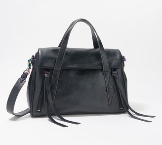 Aimee Kestenberg Double Entry Leather Satchel - City Slicker