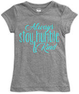 Urban Smalls Gray 'Always Be Humble & Kind' Fitted Tee - Toddler & Girls