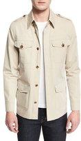 Tom Ford Lightweight Vintage Wash Safari Jacket, Tan