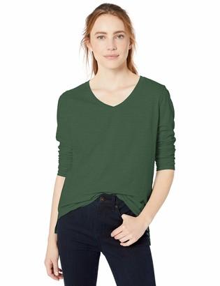 Goodthreads Vintage Cotton Long-sleeve V-neck T-shirt Pale Grey Heather US L (EU L - XL)