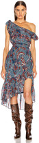 Ulla Johnson Uma Dress in Azul | FWRD