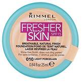 Rimmel Fresher Skin Foundation Light Porcelain (Pack of 6)