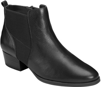 Aerosoles Leather Ankle Boots - Criss Cross