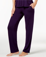 Alfani Solid Slimming Pajama Pants, Only at Macy's
