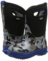 Bogs Classic Camo (Toddler/Little Kid/Big Kid) (Black) Boys Shoes