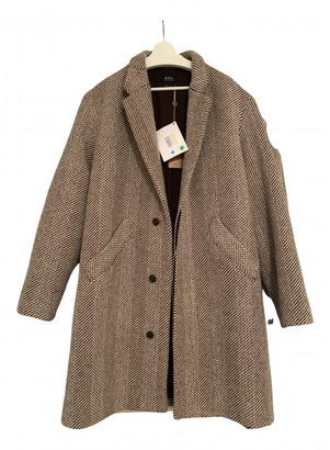 A.P.C. Brown Wool Coats
