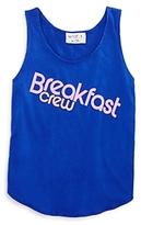 Wildfox Couture Girls' Breakfast Crew Tank - Big Kid