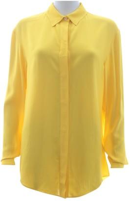 Off-White Yellow Viscose Tops