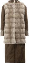 Blancha - fur gilet - women - Leather/Mink Fur/Sheep Skin/Shearling/metal - 40