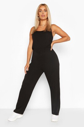 boohoo Plus Basic Cami Jumpsuit