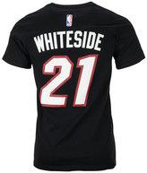 adidas Men's Hassan Whiteside Miami Heat Player T-Shirt