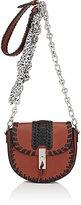 Altuzarra Women's Ghianda Mini Chain Saddle Bag-BROWN