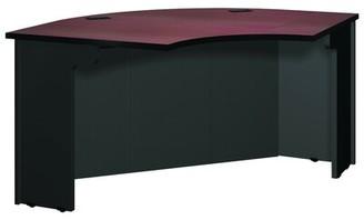 Ironwood Modular Corner Desk Finish: Mahogany / Black