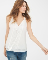 White House Black Market Sleeveless Boho Top