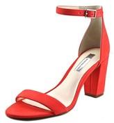 INC International Concepts Kivah Open-toe Synthetic Heels.