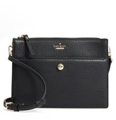 Kate Spade Steward Street Clarise Leather Shoulder Bag - Black