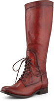 Frye Melissa Lace-Up Riding Boot