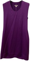Helmut Lang Purple Silk Dress for Women