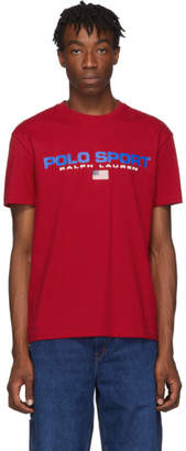 Polo Ralph Lauren Red Classic Fit T-Shirt