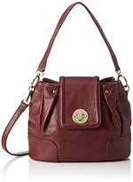 Belmondo Women's 735028 Shoulder Bag Red Size: