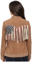 Scully Star Studded Flag Jacket