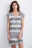 Yandel Cotton Embroidered Dress