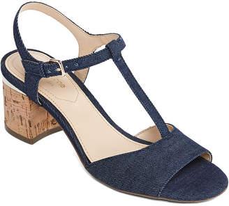Liz Claiborne Womens Lambert Heeled Sandals
