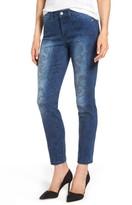 NYDJ Women's Alina Print Slim Ankle Jeans