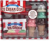 Melissa & Doug Scoop and Stack Ice Cream Cone Set