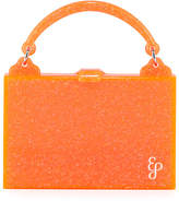 Edie Parker Housewife Solid Acrylic Top Handle Bag