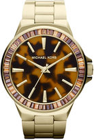 Michael Kors Watch, Women's Gramercy Gold-Tone Stainless Steel Bracelet 45mm MK5723