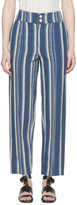 Chloé Blue Striped Lounge Pants