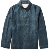 Simon Miller - Distressed Cotton Coach Jacket