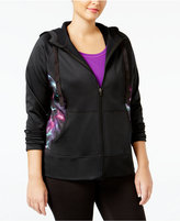Ideology Plus Size Fleece-Lined Hoodie, Only at Macy's