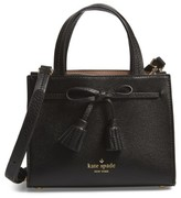 Kate Spade Hayes Street Mini Isobel Leather Satchel - Black