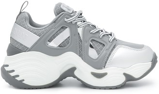 Emporio Armani Chunky-Sole Low-Top Sneakers