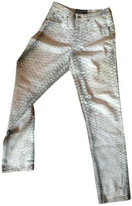Roberto Cavalli Cotton Jeans for Women
