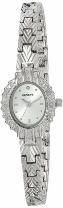 EWatchFactory Women's Ladies Geneve Analog-Quartz Watch with Alloy Strap